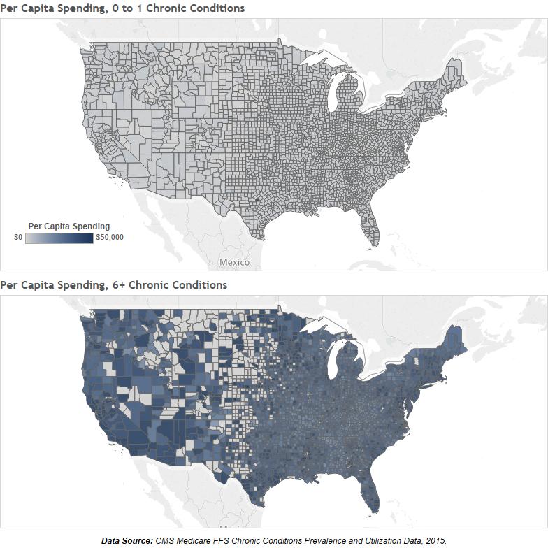 Medicare Chronic Condition Cost Comparison